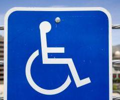 дорожный знак инвалид